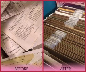Filing Before & After