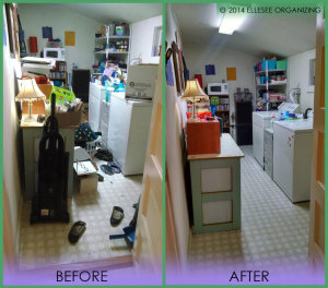 Laundry Room Before & After 1