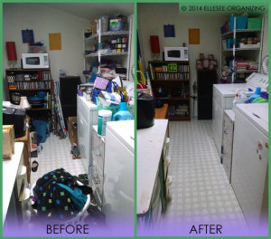 Laundry Room Before & After 2