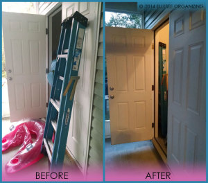 Patio and Storage Closet Before & After 1