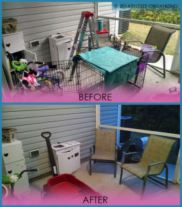 Patio and Storage Closet Before & After 2
