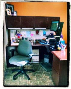 Corporate office organized
